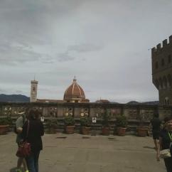 Cúpula del duomo desde Uffizi