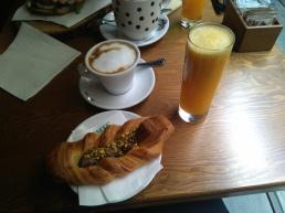 Desayuno de Cris