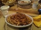 Espaguetis boloñesa para Julio